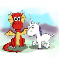 Dragon and Unicorn 1000