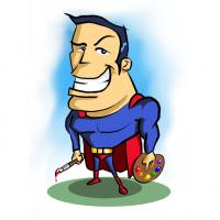 Super Hero v3 square